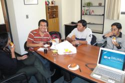 Drupal Bolivia - Historical First meetup -  2010/08/02